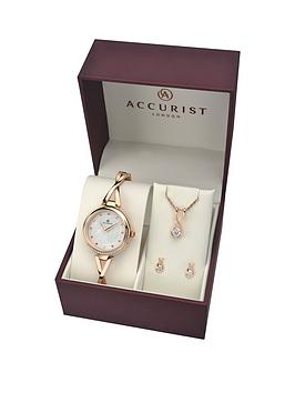 accurist-accurist-white-crystal-set-dial-rose-gold-stainless-steel-half-bangle-ladies-watch-with-matching-necklace-and-earrings-gift-set