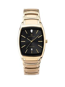accurist-accurist-black-sunray-diamond-set-date-tank-dial-gold-stainless-steel-braceket-mens-watch