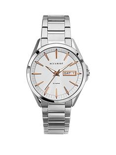 accurist-accurist-silver-and-rose-gold-daydate-dial-stainless-steel-bracelet-mens-watch