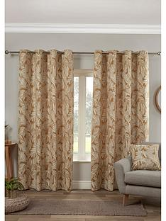 maison-miami-palm-lined-eyelet-curtains