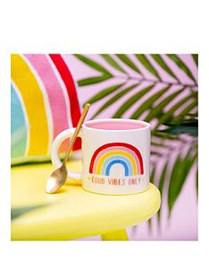 sass-belle-chasing-rainbows-good-vibes-only-mug