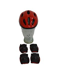 one23-junior-helmet-pad-set-red-48-54cm