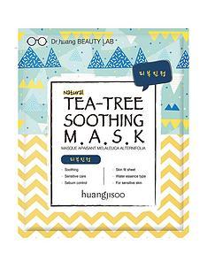 huangjisoo-tea-tree-soothing-mask-5-pack