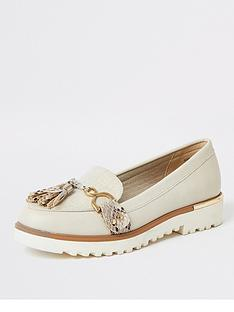 river-island-chunky-sole-loafers-beige