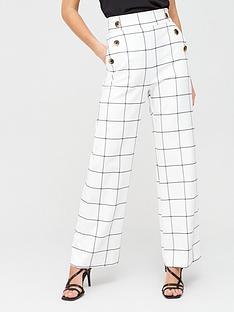 river-island-windowpane-check-wide-leg-trousers-white