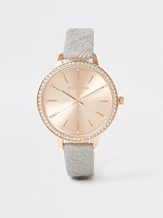 river-island-embossed-pu-strap-watch