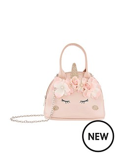 monsoon-girls-majestic-garden-unicorn-bag-pink