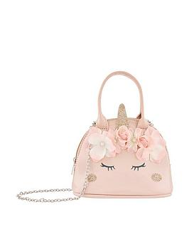 monsoon-girls-majestic-garden-unicorn-bag-pink
