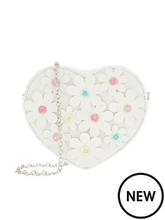 monsoon-girls-daisy-chain-heart-bag-white