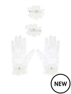 monsoon-girls-2-piece-lace-butterfly-gloves-and-hair-clip-set-ivory