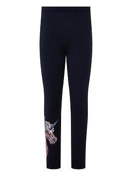 monsoon-girls-trixy-unicorn-leggings-navy