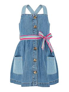 monsoon-girls-daisy-denim-dress-blue