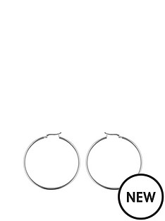 the-love-silver-collection-sterling-silver-50mm-square-tube-hoop-earrings