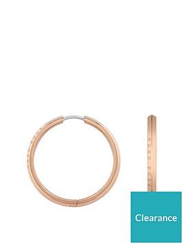 boss-boss-insignia-small-logo-gold-plated-stainless-steel-hoop-earrings