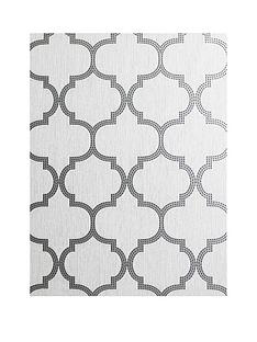 arthouse-beaded-trellis-grey-metallic-vinyl-wallpaper