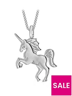 the-love-silver-collection-rhodium-plated-sterling-silver-unicorn-pendant-necklace