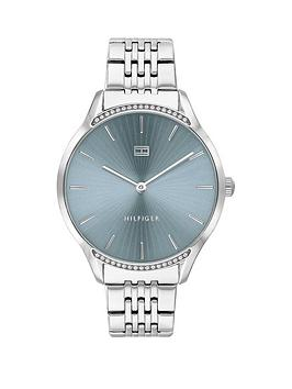 tommy-hilfiger-greynbspstainless-steel-bracelet-blue-sunray-dial-ladies-watch