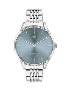 tommy-hilfiger-tommy-hilfiger-gray-stainless-steel-bracelet-blue-sunray-dial-ladies-watch