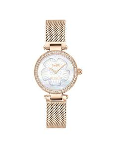 coach-coach-park-rose-gold-mesh-strap-26mm-dial-ladies-watch