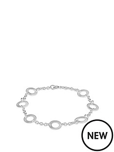 the-love-silver-collection-sterling-silver-cut-out-circle-link-bracelet
