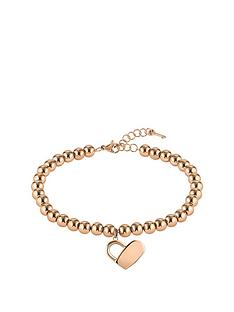 boss-boss-gold-plated-stainless-steel-beads-and-heartlock-bracelet