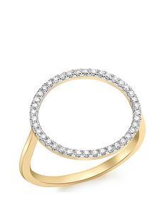 love-diamond-9ct-gold-diamond-circle-ring
