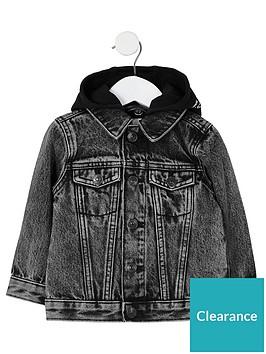 river-island-mini-boys-hooded-denim-jacket-black