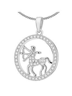 the-love-silver-collection-rhodium-plated-sterling-silver-cubic-zirconia-star-sign-pendant-necklace