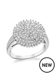 the-love-silver-collection-rhodium-plated-sterling-silver-cubic-zirconia-cluster-ring