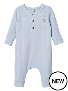 river-island-mini-baby-boys-crown-baby-grow--blue