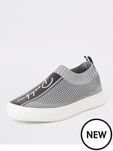 river-island-boys-prolific-knitted-runner-grey
