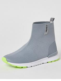river-island-boys-prolific-high-top-knitted-trainers--nbspgrey