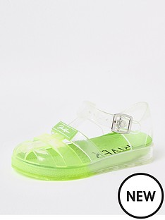 river-island-mini-mini-boys-ombre-jelly-sandals-lime