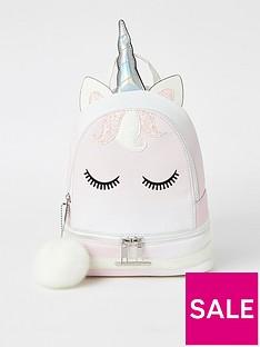 river-island-girls-unicorn-backpack-white