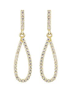 love-gold-9ct-yellow-gold-white-cubic-zirconia-teardrop-stud-earrings
