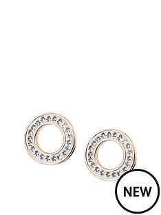 evoke-evoke-rose-gold-plated-sterling-silver-swarovski-crystals-9mm-halo-stud-earring