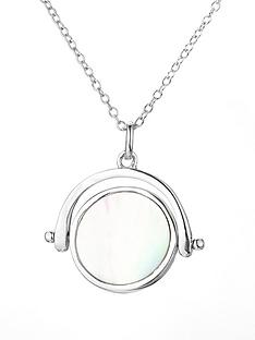 love-pearl-rhodium-plated-sterling-silver-mother-of-pearl-spinner-pendant-necklace