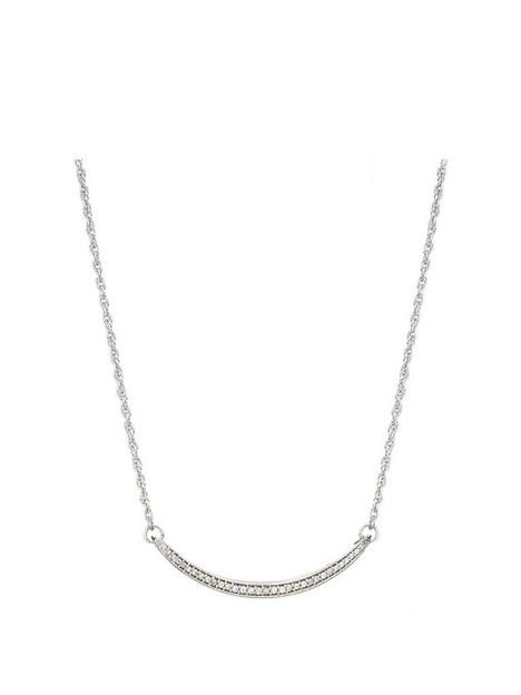 love-diamond-rhodium-plated-sterling-silver-012ct-diamond-curved-bar-necklace-with-18-inch-curb-chain