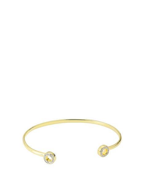 evoke-gold-plated-sterling-silver-swarovski-crystal-torque-bangle