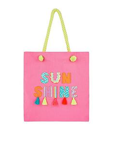 accessorize-girls-sunshine-shopper-pink