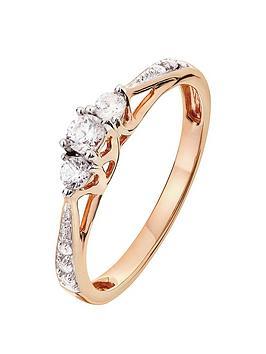 love-diamond-9ct-rose-gold-025ct-three-stone-diamond-ring-with-heart-detail-on-shank