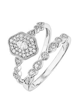 love-diamond-9ct-white-gold-diamond-ring-bridal-set