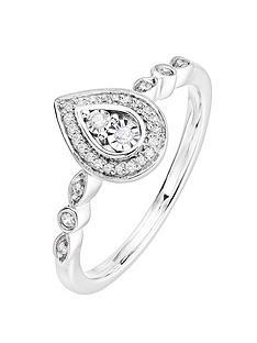 love-diamond-9ct-white-gold-010ct-diamond-pear-ring