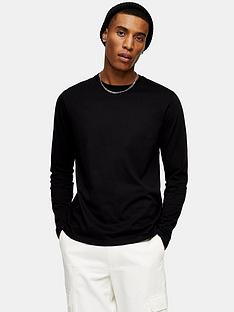 topman-classic-long-sleeve-t-shirt-black