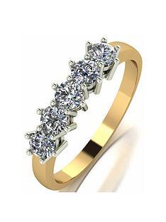 moissanite-9ct-gold-075ct-eternity-ring