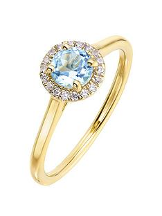 love-gem-9ct-yellow-gold-5mm-round-swiss-blue-topaz-and-008ct-diamond-birthstone-halo-ring