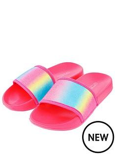 accessorize-girls-bright-glitter-sliders-pink