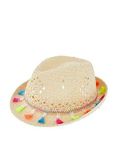 accessorize-girls-tassel-trilby-hat-natural