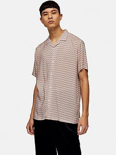 topman-geo-print-revere-shirt-pink