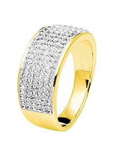 evoke-gold-plated-sterling-silver-swarovski-crystal-band-ring